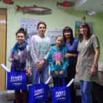Дети дали имена морским животным-талисманам