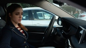 Алия Мустафина недолго просидела за рулем престижного авто.