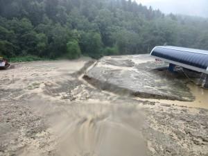 """Потоп на трассе """"Юг"""" 21 июля."""
