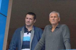 А. Икрамов (слева) и А. Хорошавин.