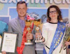 Денис Глебов и Татьяна Сергиенко.