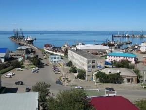 Корсаковский морской порт.