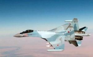 Истребитель Су-35С (Фото: Снимок с видео/управление пресс-службы и информации Минобороны РФ/ТАСС)