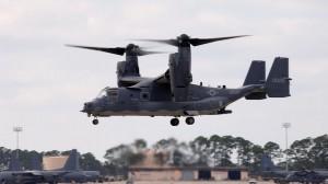 ВВС США перебрасывают в Японию конвертопланы CV-22 Osprey Air Force photo/AP