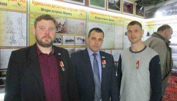 Михаил Хашба, Артем Бандура и Алексей Охрименко  (слева направо).