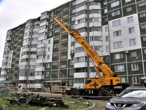 Многострадальный дом на Чехова.