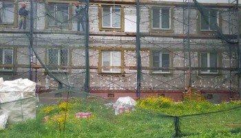 Капремонт дома № 38 по ул. Больничной в Южно-Сахалинске.